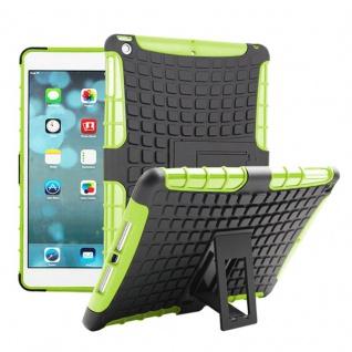 Für Apple iPad 9.7 2018 Hybrid Outdoor Schutzhülle Case Grün Tasche Cover Etui