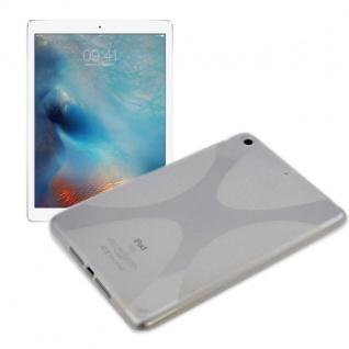 Schutzhülle Silikon X-Line Transparent Hülle für Apple iPad Pro 12.9 Tasche Cover