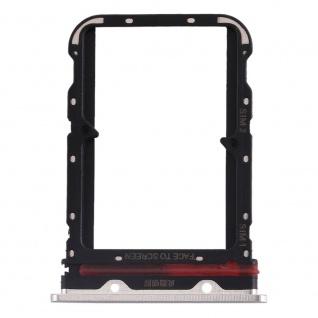 Für Xiaomi Mi Note 10 / 10 Pro Card Tray Sim Karten Halter Weiß Ersatzteil Neu