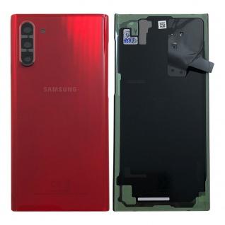 Samsung GH82-20528E Akkudeckel Deckel für Galaxy Note 10 N970F Aura Rot Ersatz