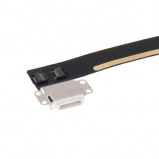 Dock Connector f. Apple iPad Mini 4 Ladebuchse Flex Kabel 8 Pin Dock Buchse Weiß - Vorschau 3