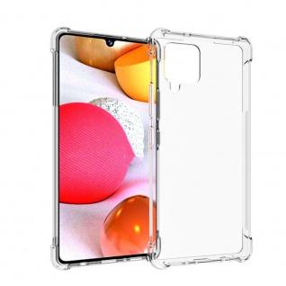 Für Samsung Galaxy A42 5G Handy Tasche Transparent Schock Hülle Etuis Cover Neu