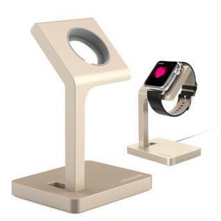 USAMS Apple Watch Alu Dock Ständer Halterung Zubehör Ladestation TimeStand