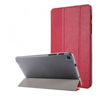 Für Samsung Galaxy Tab A7 Lite 2021 8.7 Wake UP Smart Cover Tablet Tasche Rot
