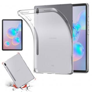 Für Samsung Galaxy Tab S6 10.5 T860 T865 Transparent Tasche Hülle TPU Silikon