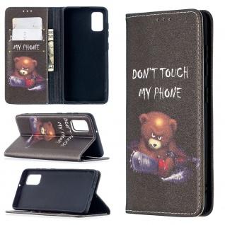Für Xiaomi Redmi Note 10 Pro Kunst-Leder Handy Tasche Motiv 1 Hülle Case Etuis