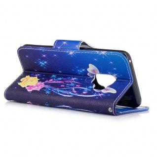 Tasche Wallet Book Muster Motiv 31 für Smartphones Schutz Hülle Case Cover Etui - Vorschau 4