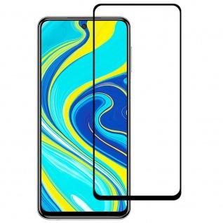 Für Xiaomi Redmi Note 9T 3D Display Full H9 Hart Glas Schwarz Folie dünn Panzer