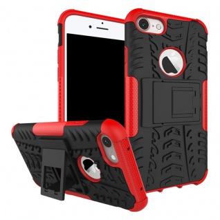 New Hybrid Case 2teilig Outdoor Rot für Apple iPhone 8 und 7 Plus 5.5 Tasche Neu