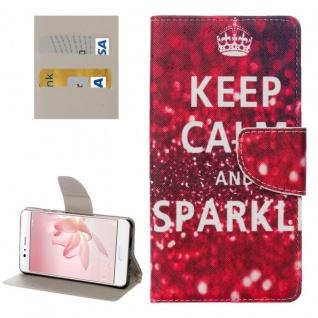 Schutzhülle Muster 22 für Huawei P10 Bookcover Tasche Case Hülle Wallet Etui Neu