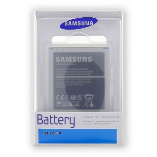Samsung Handy Akku für Galaxy J3 2016 J120F 2600 mAh EB-BG530B Batterie + Box - Vorschau 3