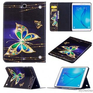 Für Samsung Galaxy Tab A 10.1 2019 T510 Motiv 32 Tasche Kunst Leder Hülle Etuis