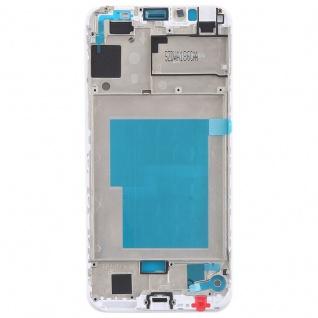 Gehäuse Rahmen Mittelrahmen Deckel für Huawei Y6 2018 Weiß Reparatur Ersatz - Vorschau 2