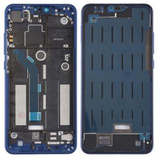 Mittelrahmen für Xiaomi Mi 8 Lite Blau Gehäuse Rahmen Deckel Ersatz Reparatur