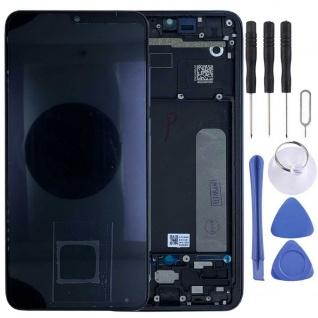 Für Xiaomi Mi 9 Lite Display Full OLED LCD mit Rahmen Reparatur Schwarz Ersatz