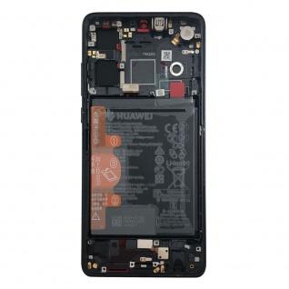 Huawei Display LCD Rahmen für P30 Service 02352NLL Schwarz / Black Batterie Neu - Vorschau 3