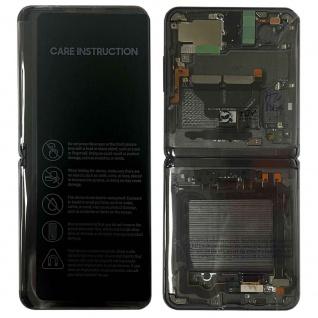 Samsung LCD Display für Galaxy Z Flip 5G + Frame GH82-23351A Mystic Grey Ersatz Teil