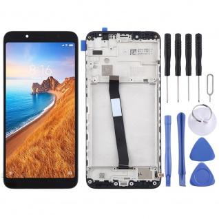 Für Xiaomi Redmi 7A Display LCD Einheit mit Rahmen Touch Screen Ersatz Schwarz