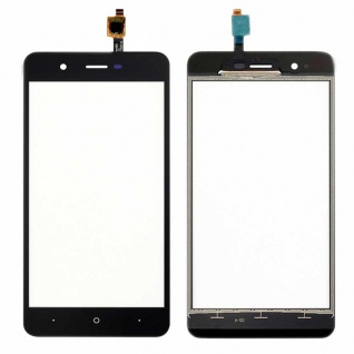 Reparatur Displayglas Touch Screen für Wiko Harry LCD Reparatur Schwarz Ersatz