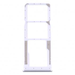 Sim Card Tray für Xiaomi Redmi Note 9S / Redmi 9 Silber Karten Halter Ersatzteil