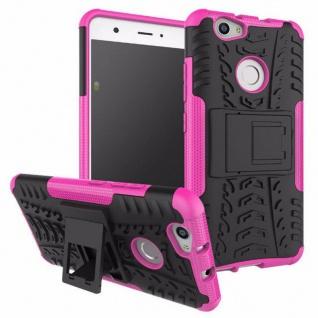 Hybrid Case 2teilig Outdoor Pink für Huawei Nova Tasche Hülle Cover Neu Schutz
