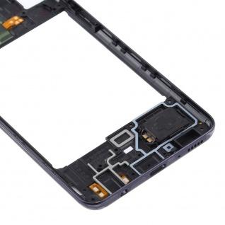 Mittelrahmen Samsung Galaxy A41 Schwarz LCD Rahmen Gehäuse Zubehör Ersatzteil - Vorschau 5