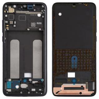 Gehäuse Rahmen Mittelrahmen Deckel für Xiaomi Mi 9 Lite Schwarz Ersatz Reparatur