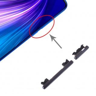 Für Xiaomi Redmi Note 8 Pro Sidekeys Seitentasten Schwarz Ersatzteil Reparatur