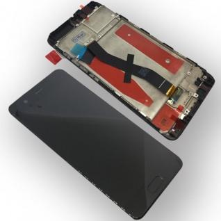 Für Huawei P10 Full Display LCD Einheit mit Rahmen Komplett Schwarz Reparatur