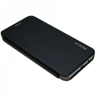 Original ROCK Smartcover Schwarz für HTC Desire 820 Zubehör Hülle Cover Case Neu - Vorschau