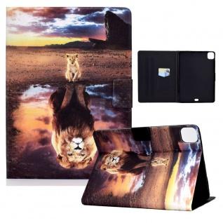 Für Apple iPad Pro 11.0 / Air 10.9 2020 Motiv 5 Tasche Kunst Leder Hülle Etuis