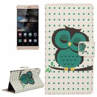 Schutzhülle Muster 44 für Huawei Ascend P8 Bookcover Tasche Hülle Wallet Case