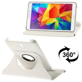 Schutzhülle 360 Grad Weiss Tasche für Samsung Galaxy Tab 4 8.0 SM-T330 T330 Neu