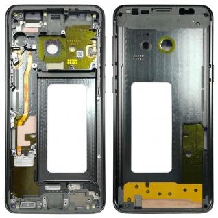 Mittelrahmen Rahmen Kamera Glas Gehäuse für Samsung Galaxy S9 G960 G960F Grau
