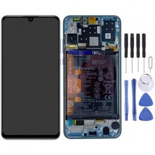 Huawei Display LCD Pack Rahmen für P30 Lite New Edition 02353FQB Weiß Reparatur