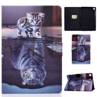 Für Samsung Galaxy Tab S6 Lite P610 Motiv 89 Tablet Tasche Kunst Leder Etuis Neu