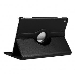 Für Apple iPad 10.2 Zoll 2019 7. Gen Schwarz 360 Grad Etui Tasche Kunstleder Neu - Vorschau 2