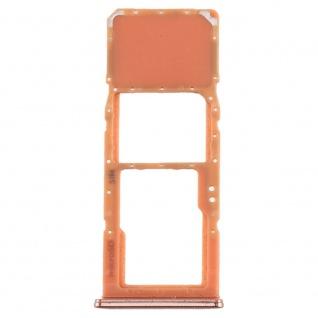 Sim Karten Halter für Samsung Galaxy A70 Orange Card Tray Micro SD Ersatzteil - Vorschau 2