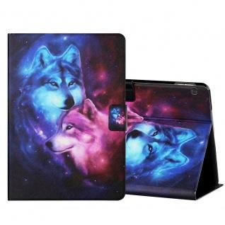 Für Lenovo Tab M10 10.1 Zoll X605F Motiv 1 Tablet Tasche Kunst Leder Hülle Etuis