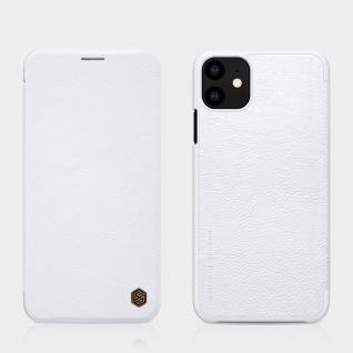 Kunstleder Flipcase Cover für Apple iPhone 11 Pro MAX 6.5 Weiß Tasche Etui Case