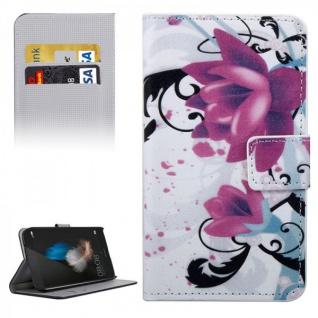 Schutzhülle Muster 3 für Huawei G8 5.5 Zoll Bookcover Tasche Case Hülle Wallet