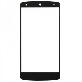 Displayglas Glas Schwarz für Motorola Google Nexus 5 Zubehör + Reparatur KIT
