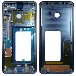 Mittelrahmen Rahmen Kamera Gehäuse für Samsung Galaxy S9 Plus G965 G965F Blau