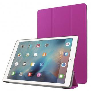 Smartcover Lila Cover Tasche für NEW Apple iPad 9.7 2017 Hülle Etui Case Schutz
