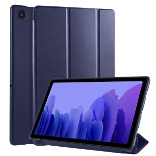 Flip Case Dunkel Blau für Samsung Galaxy Tab A7 10.4 2020 Tasche Hülle Case