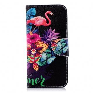 Für Samsung Galaxy A6 A600 2018 Kunstleder Tasche Book Motiv 42 Hülle Case Cover - Vorschau 2