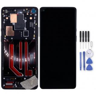 Für OnePlus 8 Pro Display Full OLED LCD + Rahmen Touch Ersatzteil Schwarz Teil