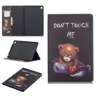 Für Samsung Galaxy Tab S7 Motiv 58 Schutz Tablet Tasche Kunst Leder Hülle Etuis