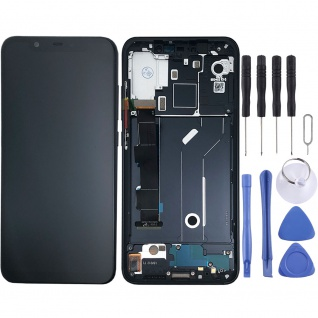 Für Xiaomi Mi 8 Display Full LCD Touch mit Rahmen Reparatur Ersatz Schwarz Neu