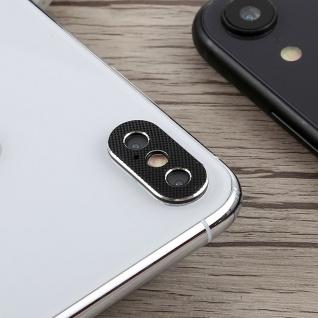 Kamera Cam Schutz Protection Ring für Apple iPhone XS Max 6.5 Zoll Schwarz 2Pcs - Vorschau 2